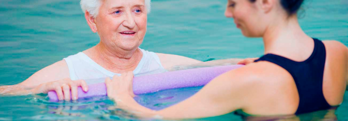 Hydrotherapy on exercise